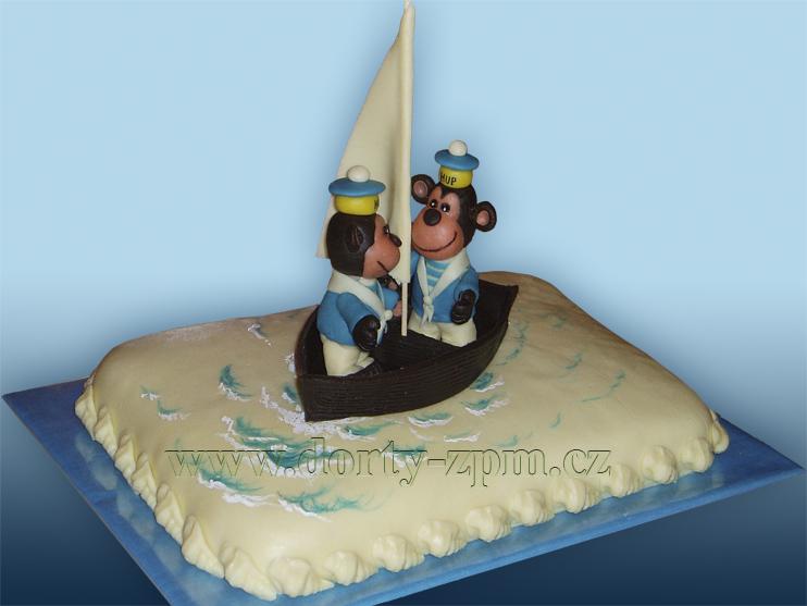 Hup a Hop, dětský dort