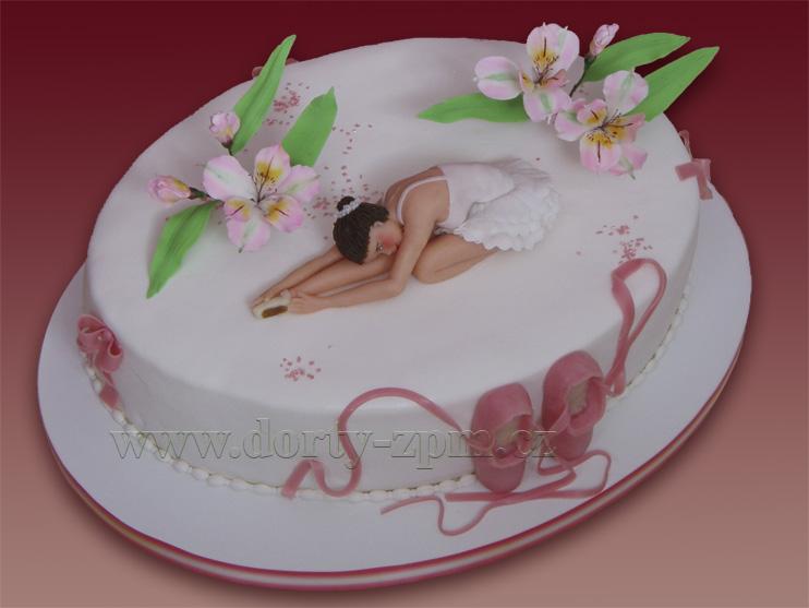 baletka, sportovní dort