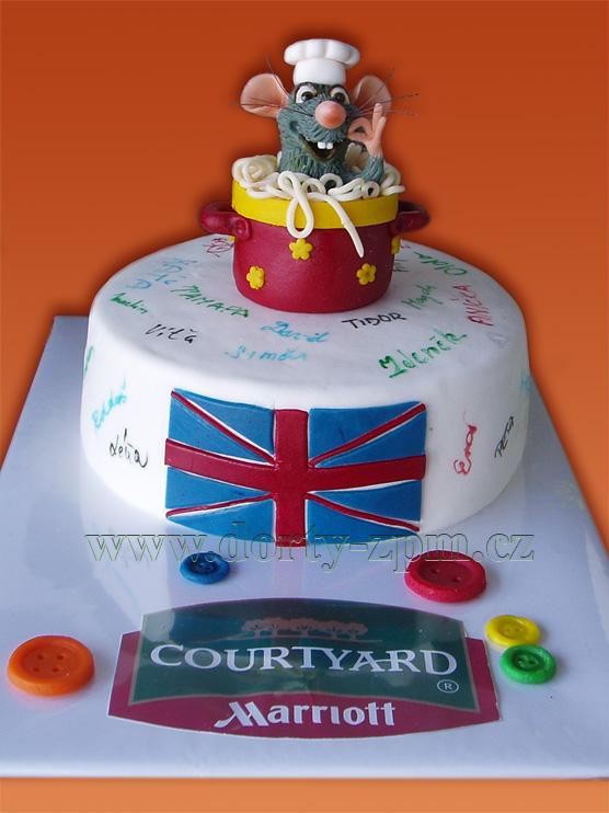 Ratatouille, firemní a dětský dort