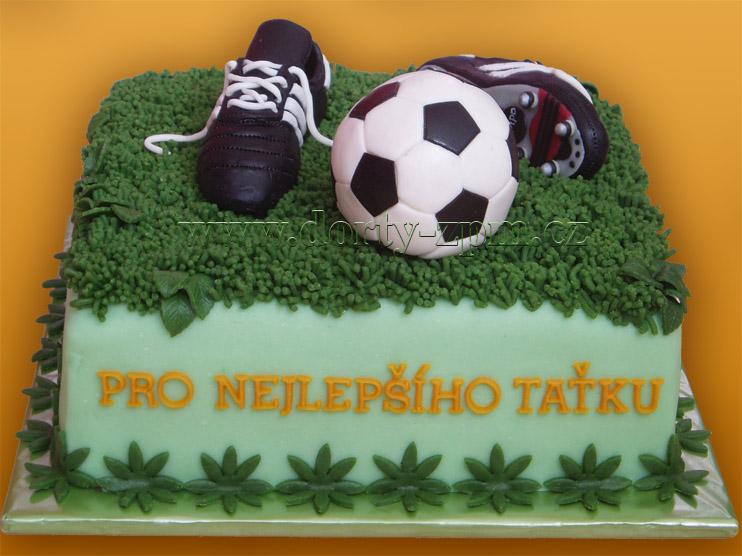 fotbal, sportovní dort