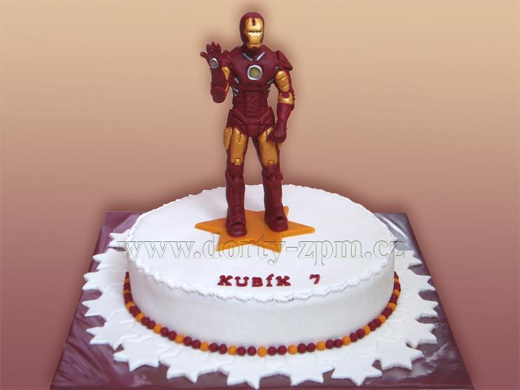 Ironman, dětský dort