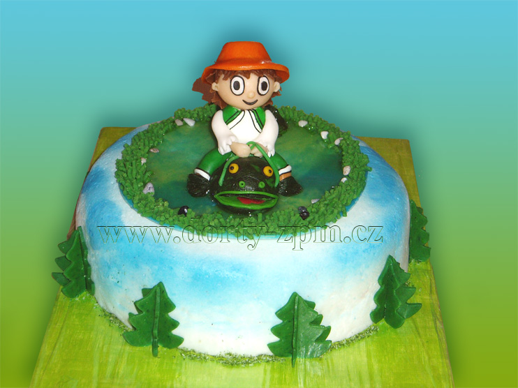 Cipísek, dětský dort