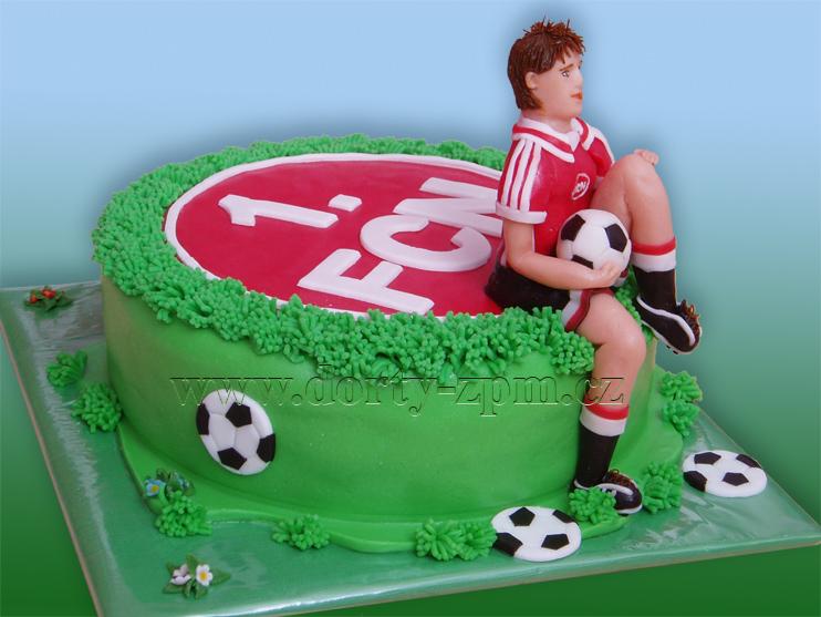 dort fotbalista FCN, sportovní dort