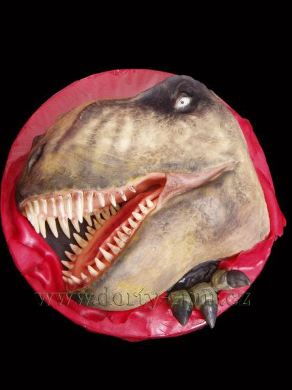 dort, tyranosaurus, dinosaurus, zuby, drápy