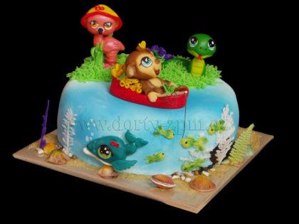 dort LPS zvířátka, dětský