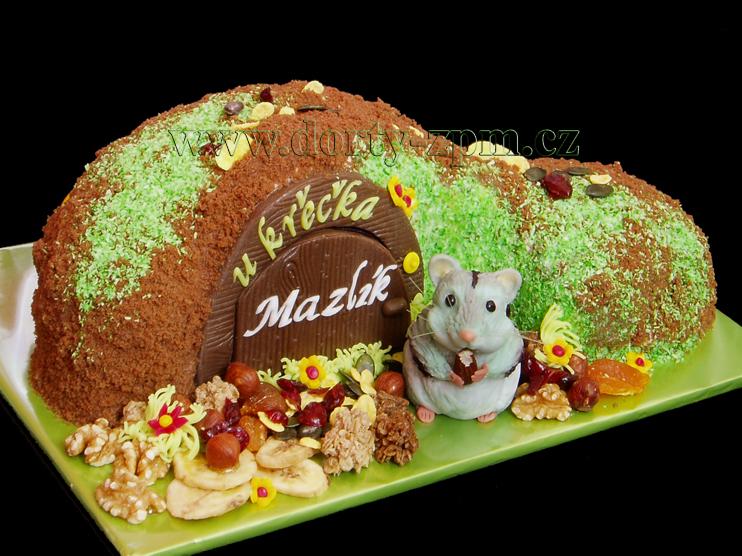 dort křeček, zvířata