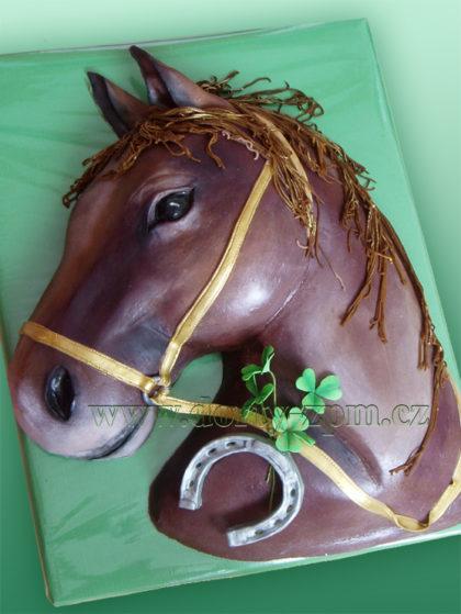 dort kůň, hlava, zvířata, podkova, čtyřlístek,