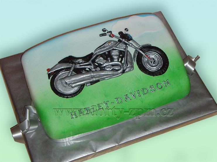 dort motorka Harley-Davidson