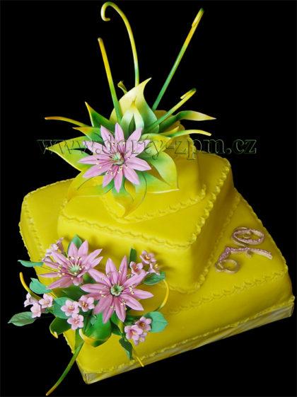 dort,pastillage,netřesk,květiny,listy
