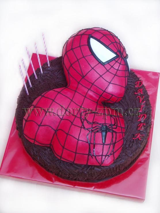 dort Spiderman 3D, dětský