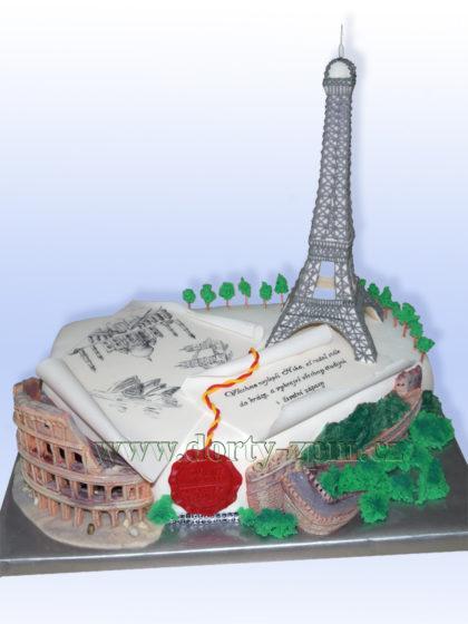 dort, architektura, Eifelova, věž, Coloseum, Čínská, zeď