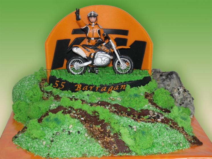 dort motorka KTM, motocross, sportovní