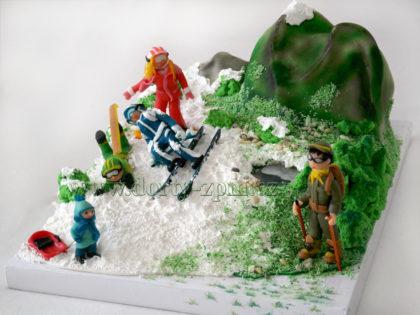 dort lyže a sáňky, hory, sportovní