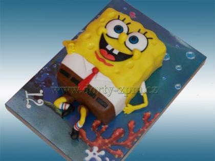dort Spongebob 3D, dětský