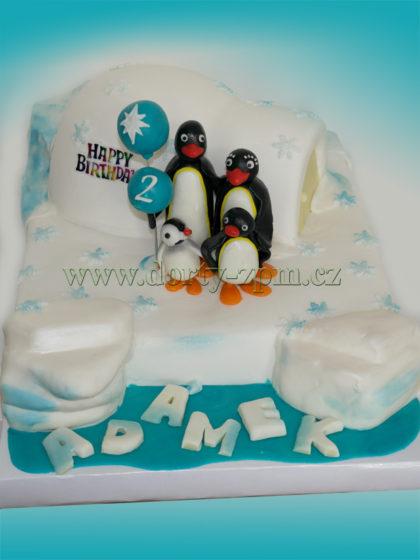 dort tučňák Pingu, dětský