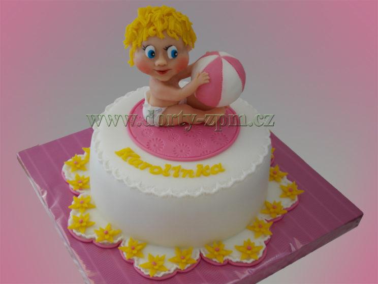 dort miminko s balonem, dětský