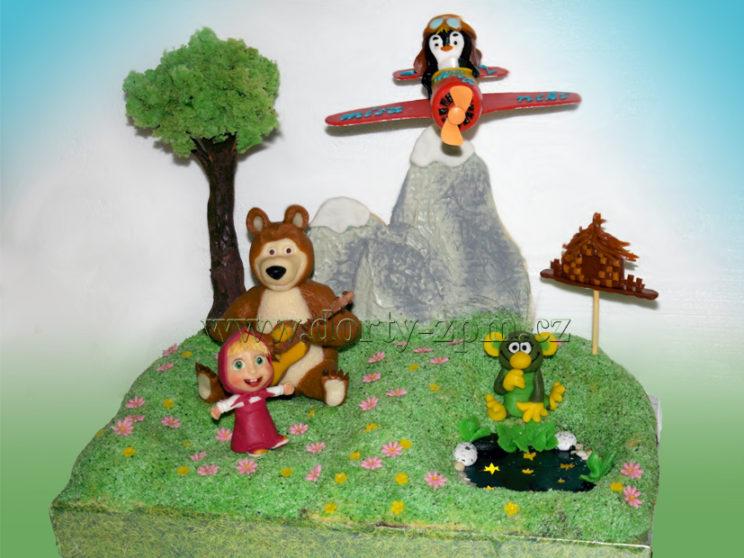 dort Máša a medvěd, Rákosníček, dětský