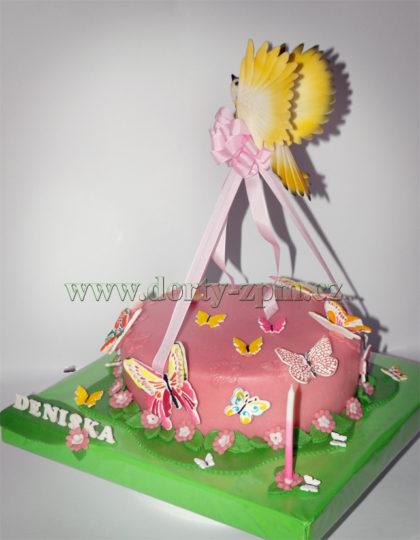 dort s motýlky a ptáčky, dětský