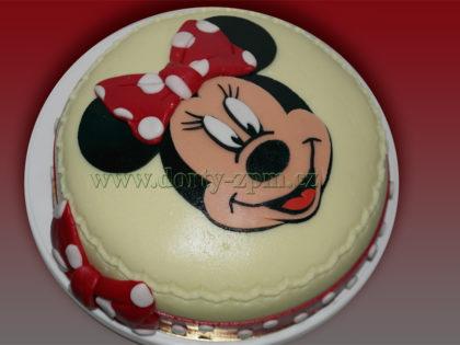 dort Minnie, vyřezávaná hlava, dětský