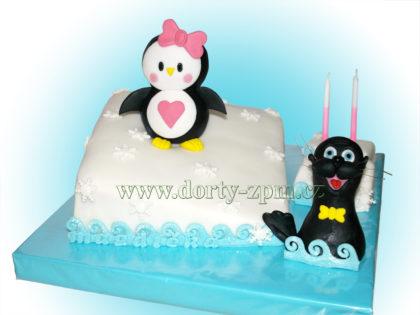 dort tučňák a lachtan, dětský