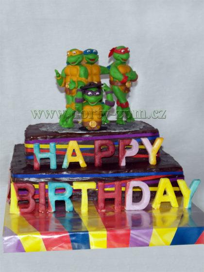 dort želvy Ninja, dětský
