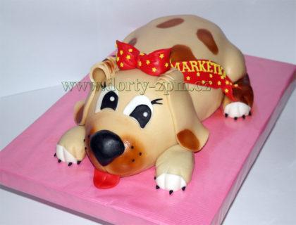 dort štěně, dětský
