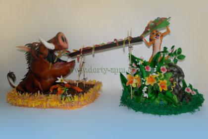 dort Timon a Pumba 3D, dětský