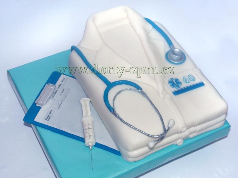dort lékařský plášť