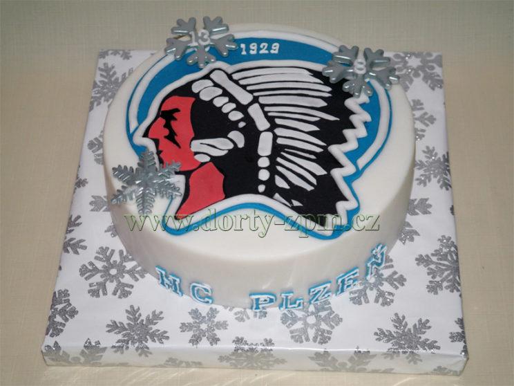 dort znak HC Plzeň, sportovní
