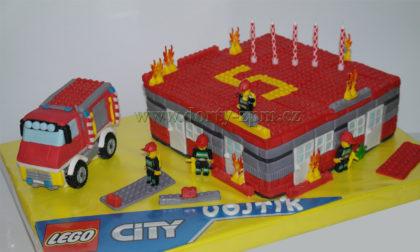 dort Lego City Hasiči, dětský, oheň, hasičské auto