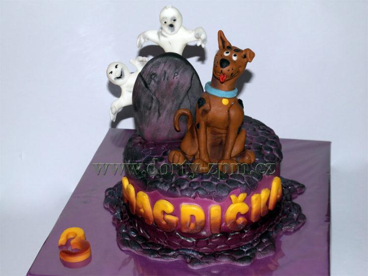 dort Scooby Doo, dětský, duchové