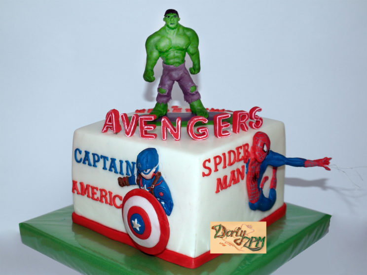 dort avengers, Plzeň, dětský, Hulk, Thor, Captain America, Spiderman, Ironman
