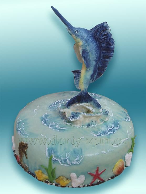 dort, ryba, zvíře, mečoun, mořská