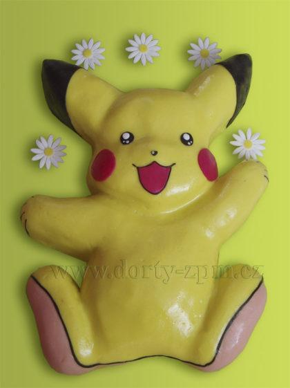 Pikachu 2D, dětský dort