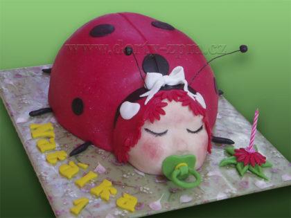 dort, beruška, 3D, dětský