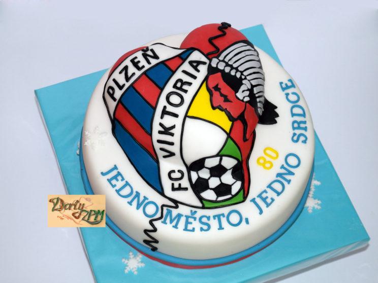 dort znak HC Plzeň a FC Viktoria, sportovní