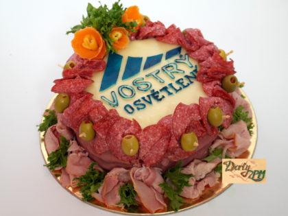 dort,slaný,sýrový,salámový,zelenina,osvětlení,vostrý