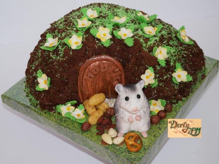 dort, křeček, domeček, žrádlo, jídlo, oříšky, křupky, preclík, bobík