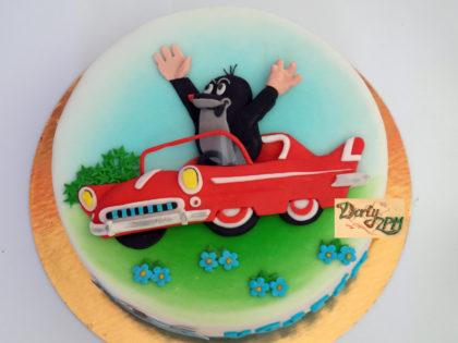dort,krtek,autíčko,na klíček