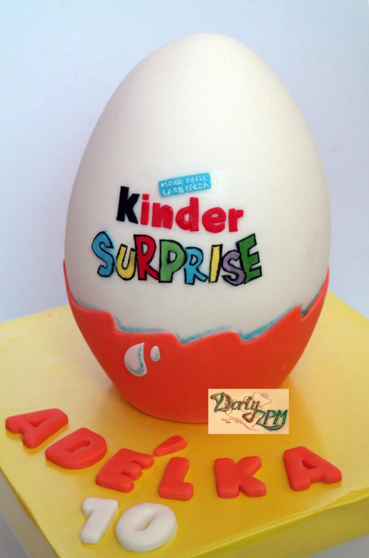 dort,kinder,vajíčko,egg, Dorty-ZPM, Plzeň