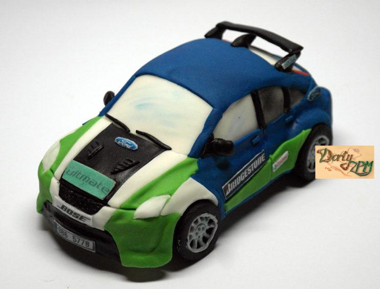model auta Ford Focus, Dorty-ZPM, Plzeň, Slovany