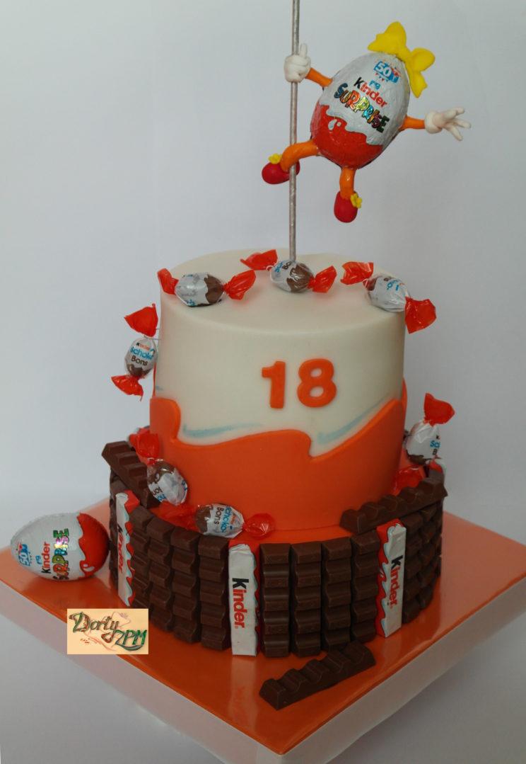 dort,dětský,kinder,čokoláda,vajíčko,egg,pole,dance,surprise