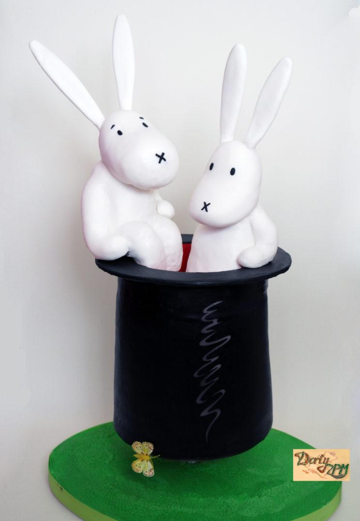 dort,dětský,Bob,Bobek,králíci,klobouk,kouzelník,Pokuston