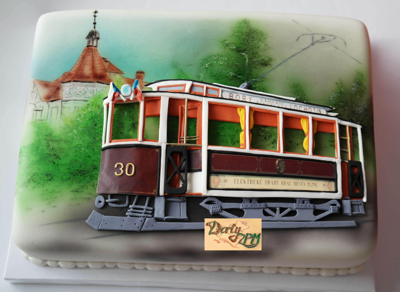dort,tramvaj,Křižík,3D,renovovaná,historická,Plzeň,PMDP