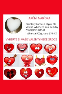 akce valentýn