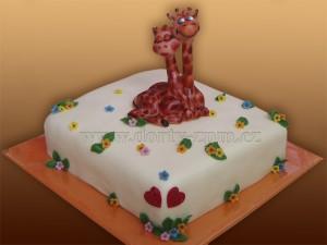 dort žirafa LOVE