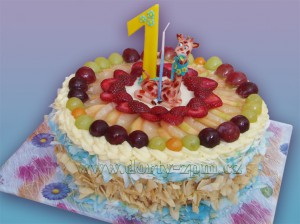 dort ovocný-žirafa