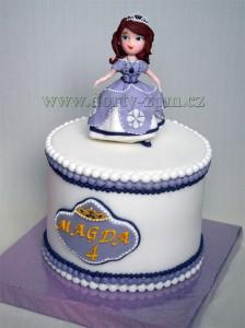 dort princezna Sofie/dorty dětské