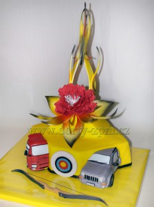 dort auta luk květina/dorty slavnostní